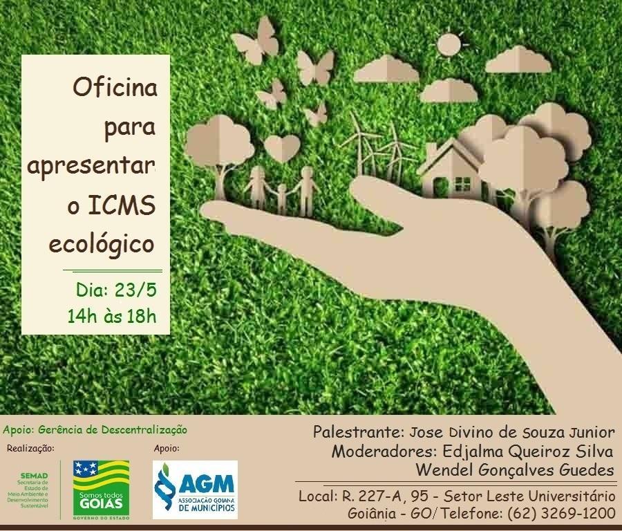 Oficina para apresentar o Icms Ecológico