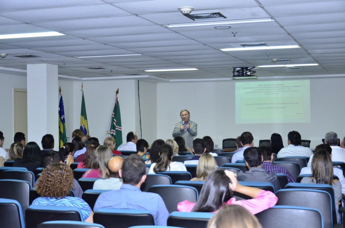 Secima promove curso sobre Política Nacional de Educação Ambiental
