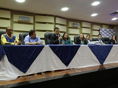 AGM apresenta PMAR em audiência pública