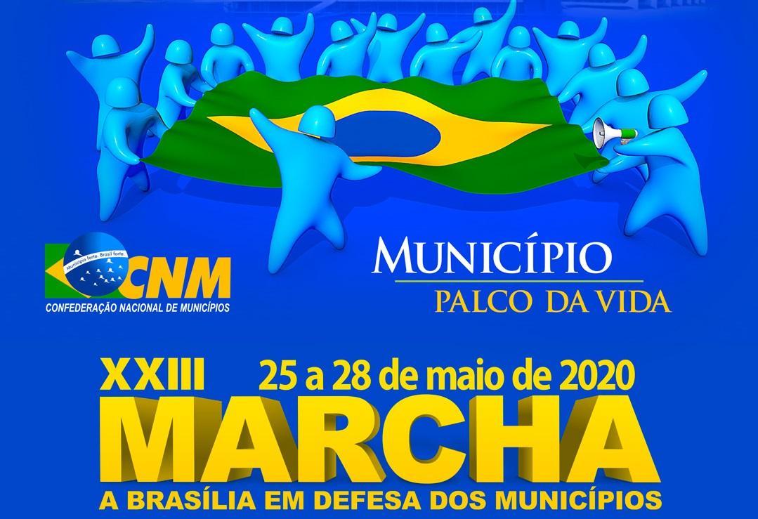Definida a 23ª edição da Marcha a Brasília em Defesa dos Municípios