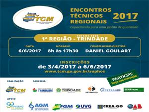 Trindade recebe Encontro Regional do TCM