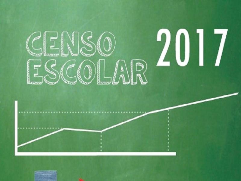 Está aberta a segunda Etapa do Censo Escolar 2017