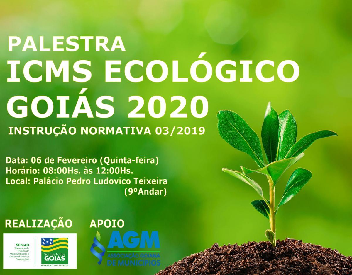 Palestra ICMS Ecológico – Goiás 2020