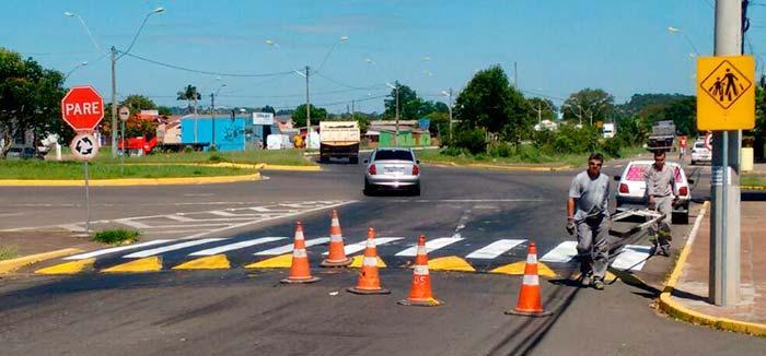Detran faz parcerias com prefeituras para a sinalização urbana