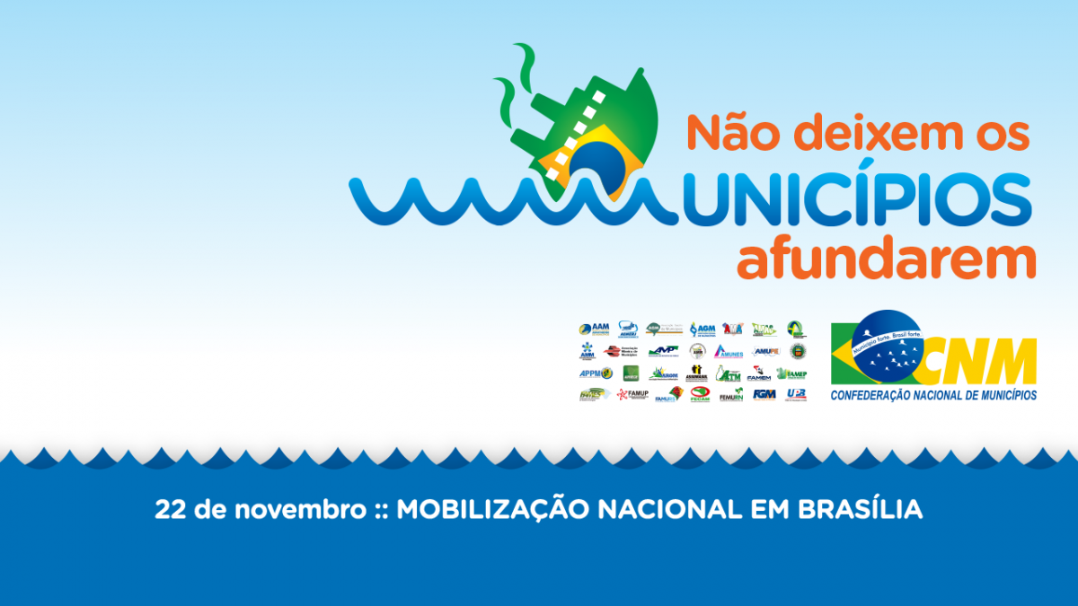 Definida a agenda de mobilização de prefeitos em Brasília