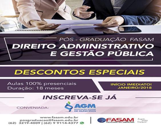 Curso de Direito Administrativo e Gestão Pública