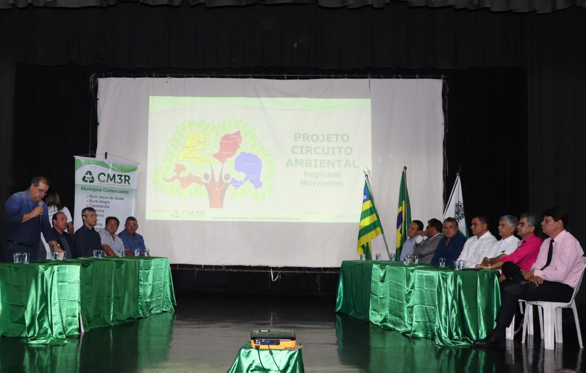 Consórcio Municipal Três Rios (CM3R) promove reunião em Morrinhos