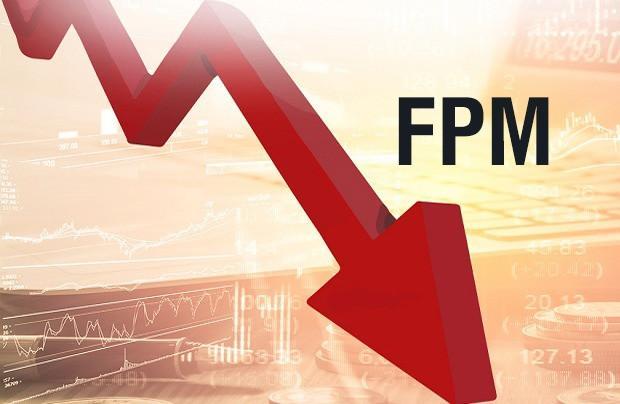 FPM apresenta mais uma grande queda – 34,90%
