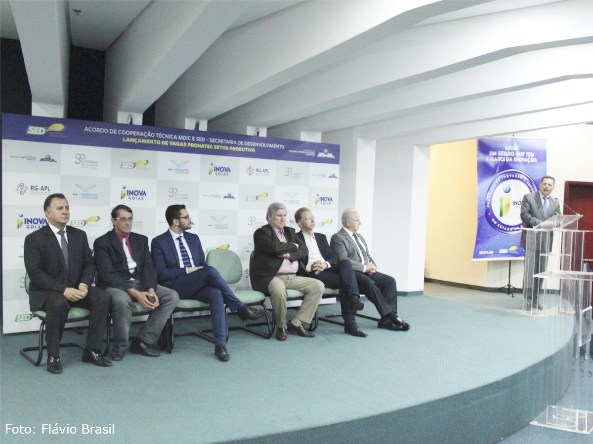 Presidente da AGM participa de lançamento do Pronatec Setor Produtivo