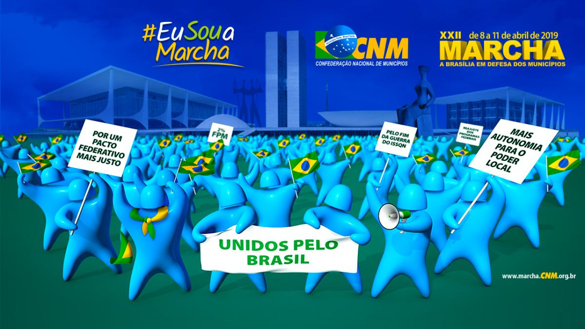 Aproxima-se a XXII Marcha a Brasília em Defesa dos Municípios