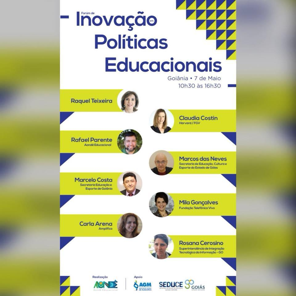 AGM mobiliza prefeitos e secretários para o Fórum Inovação em Políticas Educacionais