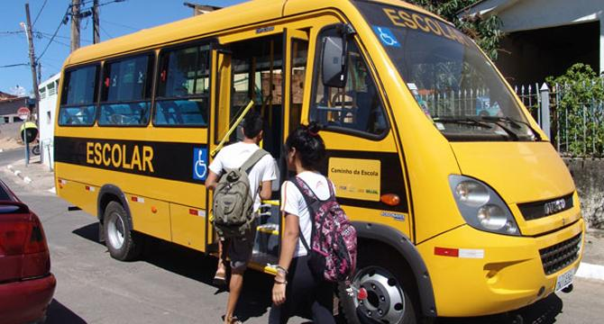 Vistoria do transporte escolar começa dia 19 de Agosto
