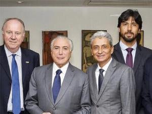 ?Movimento municipalista se reúne com o presidente Michel Temer