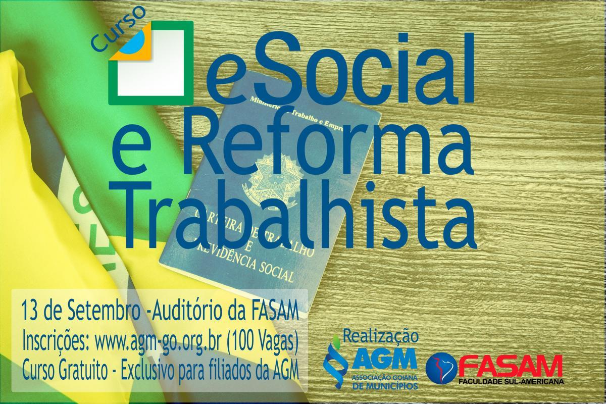 AGM e FASAM promovem curso sobre o Sistema eSocial