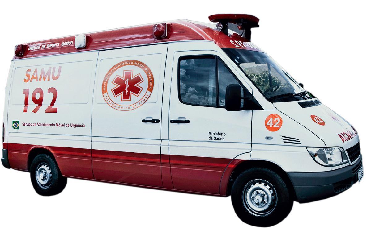 Publicada lista de Municípios que podem receber ambulâncias do Samu