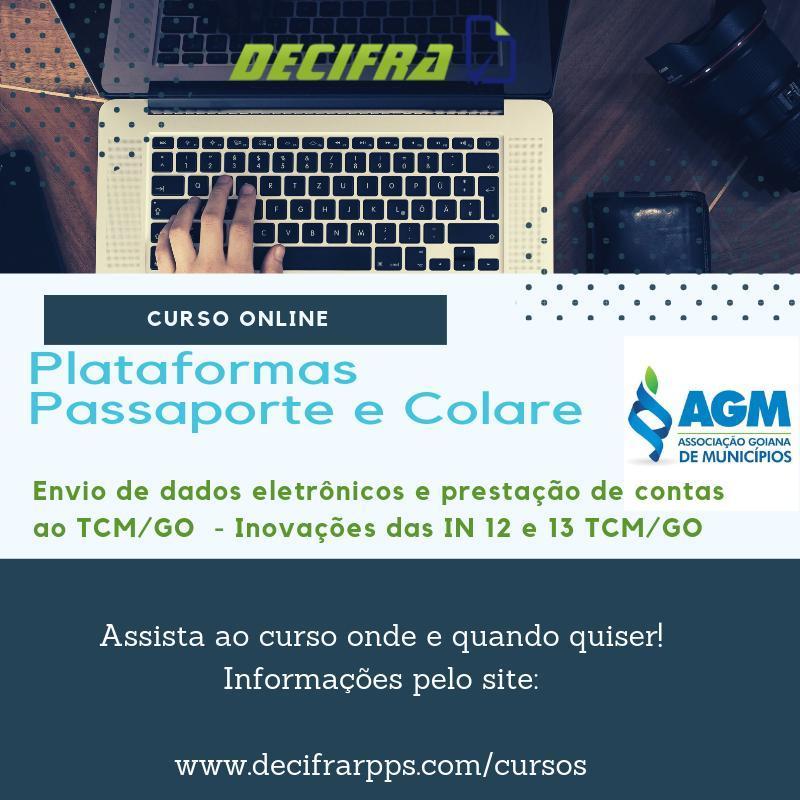 Curso Online – Plataformas Passaporte e Colare