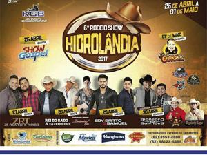 ?6º Rodeio Show agita Hidrolândia e região Metropolitana