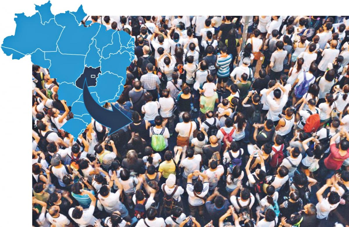 IBGE divulga estimativa populacional e 10 municípios goianos aumentam o FPM