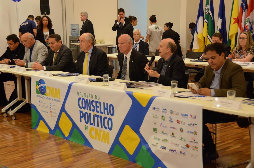 Conselho Político CNM define plano de atuação