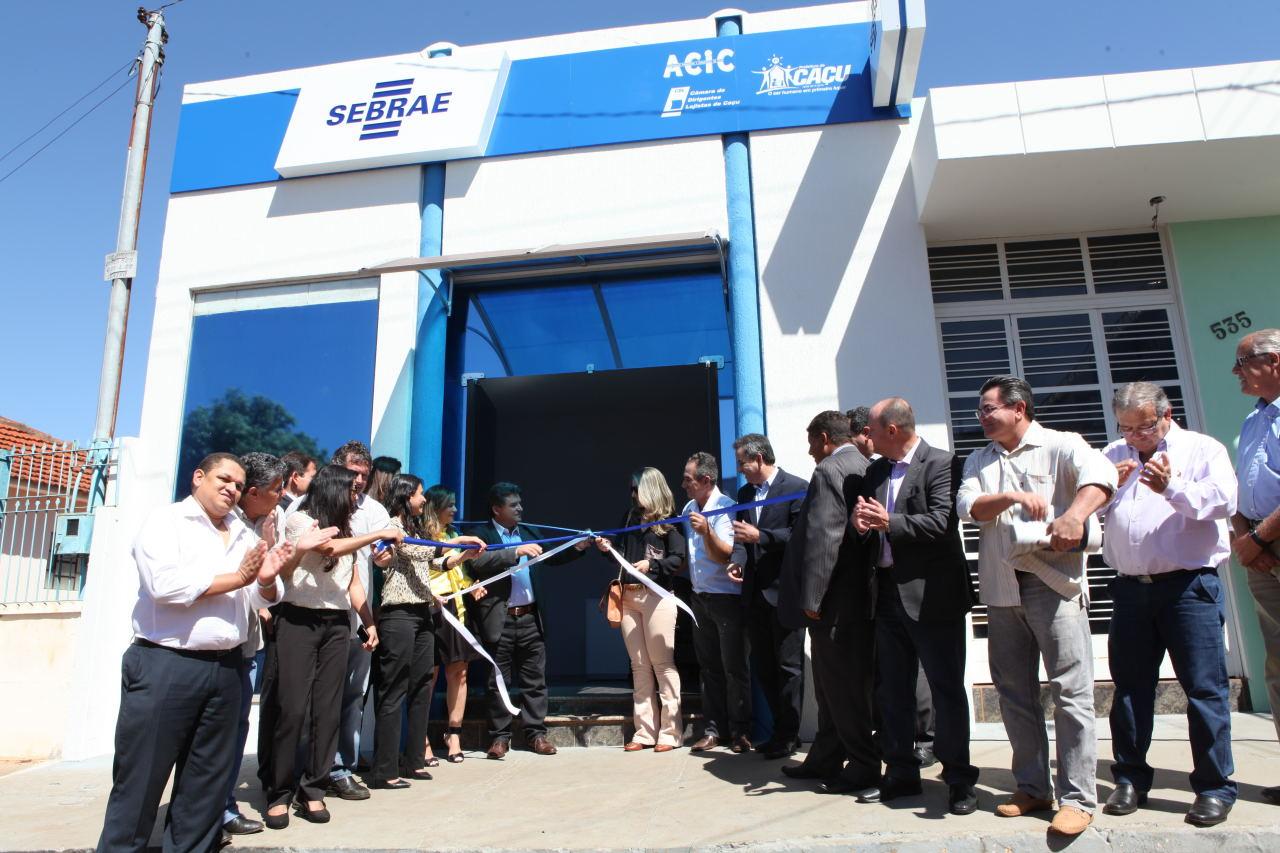SEBRAE-GO inaugura mais 3 agências