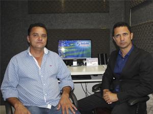 Prefeitos de São Luis de Montes Belos e de Mossâmedes visitam a AGM