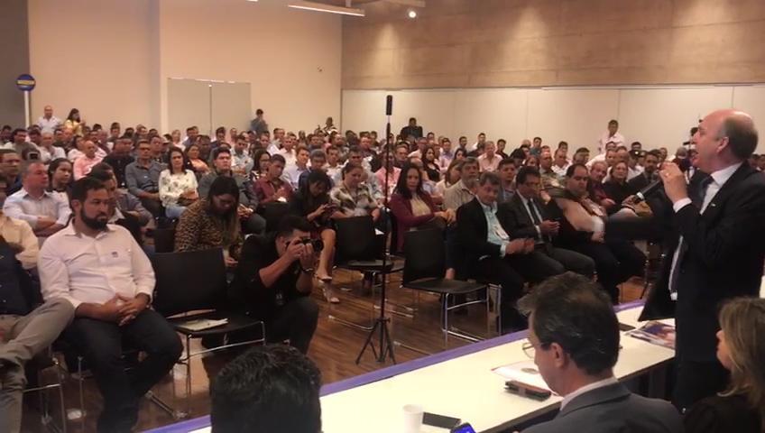 Prefeitos goianos se reúnem com bancada federal e defendem Eleições Gerais