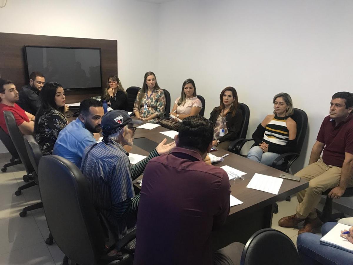 Reunião discute mobilização para o projeto Virada Ambiental
