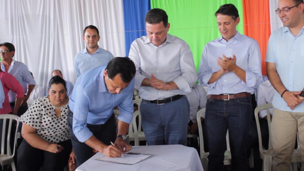Sanclerlândia recebe a caravana do Goiás na Frente