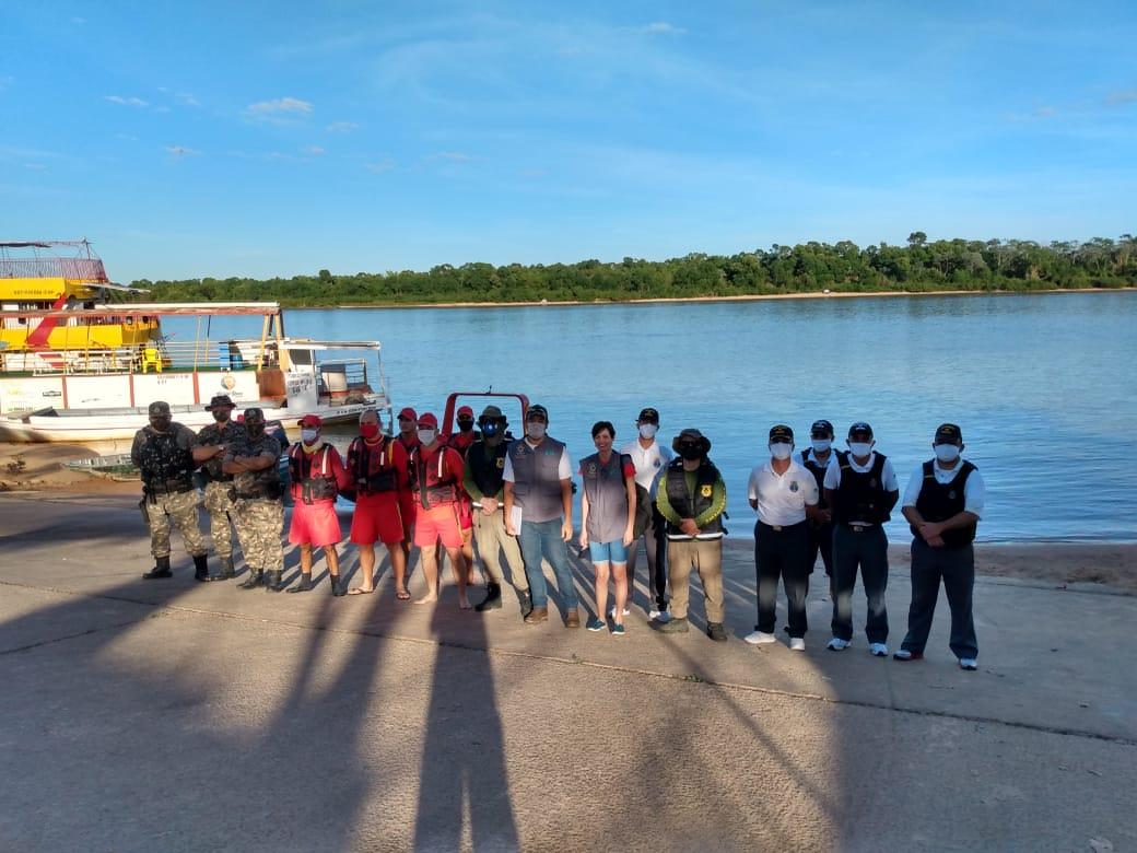 Deflagrada força-tarefa para orientar e evitar aglomerações na região do Araguaia