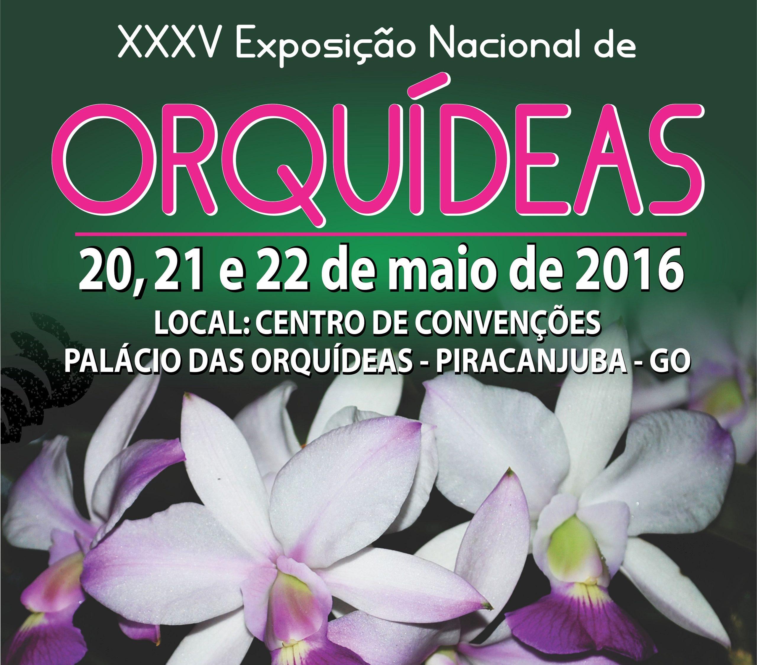 Piracanjuba se prepara para a 35ª Exposição Nacional de Orquídeas