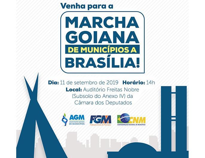 MARCHA GOIANA DE MUNICÍPIOS A BRASÍLIA