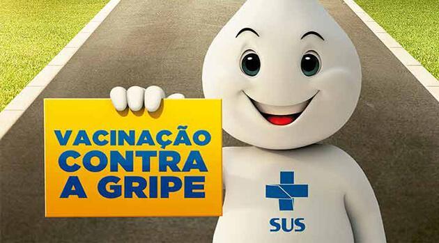 Campanha de vacinação contra influenza em Goiás começa nessa 6ª feira (13)
