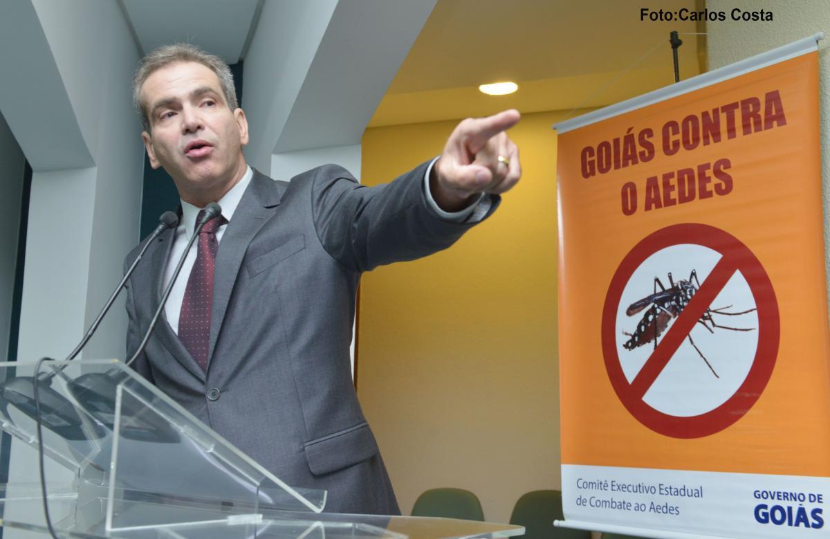 """Para prevenir a dengue SES-GO antecipa operação """"Goiás contra o Aedes"""""""