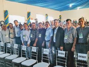 AGM No Lançamento do Programa Goiás na Frente Na Cidade de Goiatuba..