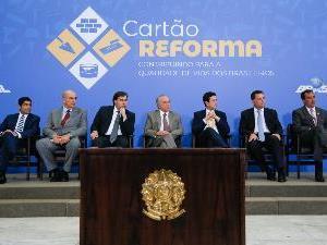 Presidente da AGM participa do lançamento do Cartão Reforma