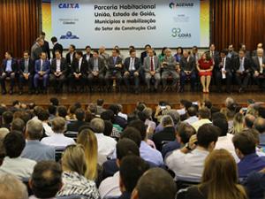 Goiás lança programa habitacional para construção de 30 mil moradias