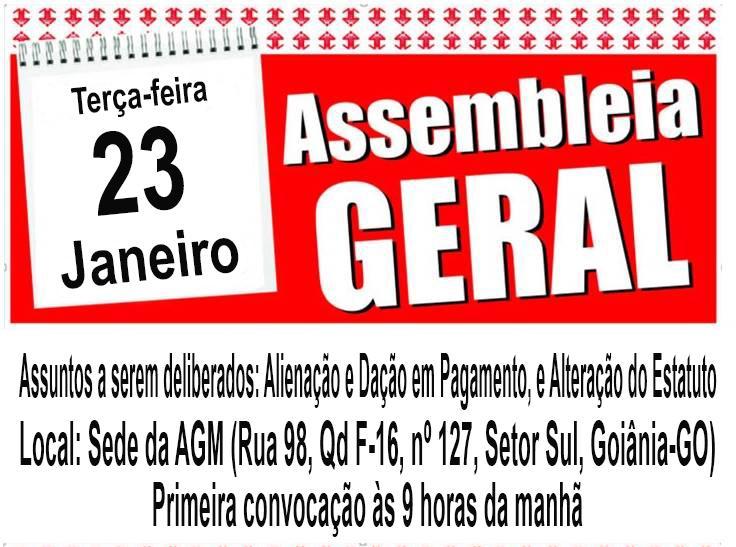AGM convoca prefeitos para Assembleia Geral