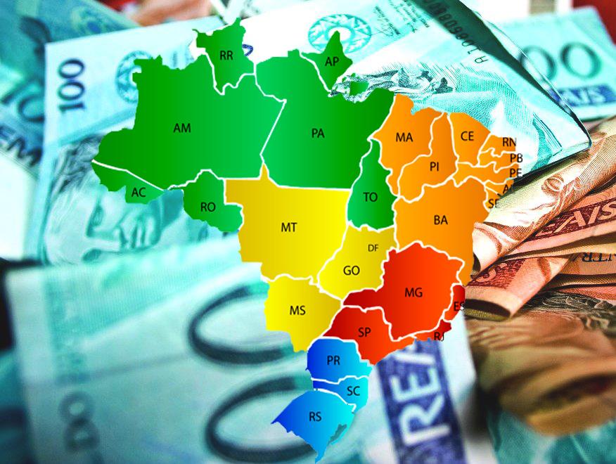 Câmara Federal aprova proposta de renegociação de dívidas dos estados