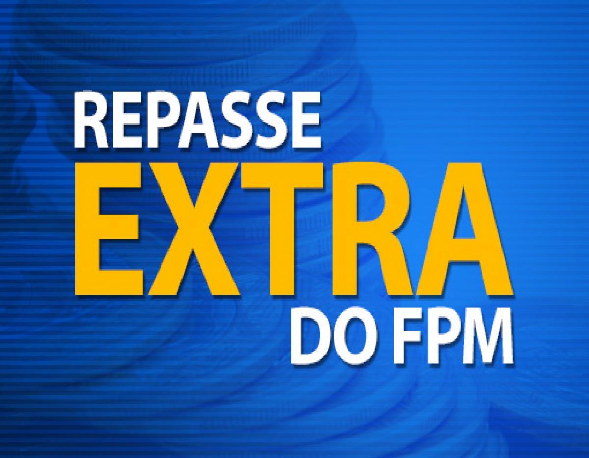 1% do FPM adicional será creditado nesta quinta (7)