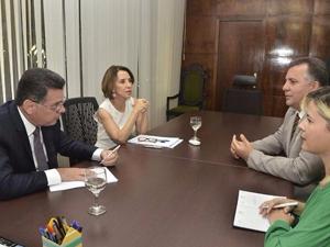 Presidente da AGM se reúne com governador Marconi Perillo