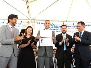 AGM na Transferência da Capital Para o Município de Santa Cruz