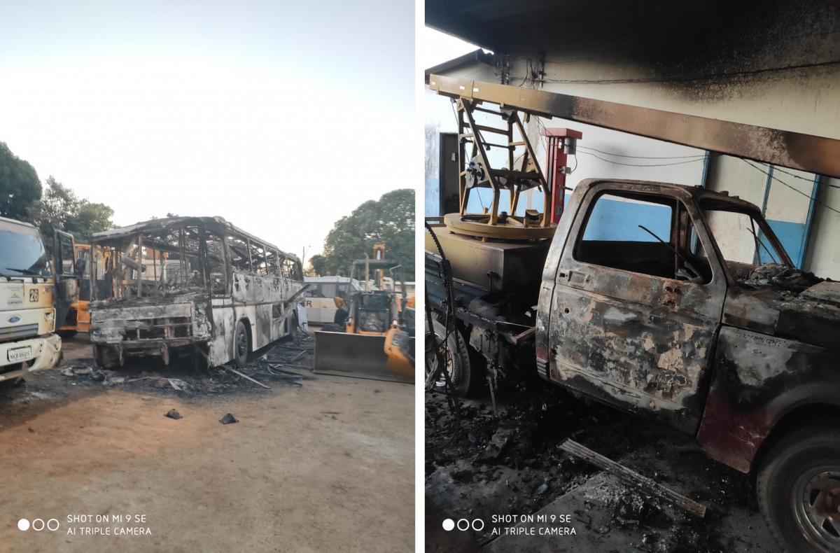 AGM repudia atentado contra a Prefeitura de Campinorte