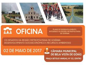 Bela Vista de Goiás sedia debate sobre Região Metropolitana de Goiânia