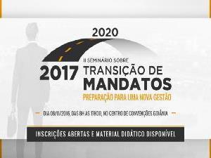 ?AGM convida para o II Seminário sobre Transição de Mandatos