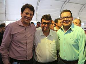 AGM No Lançamento das 30 mil moradias em todo o Estado de Goiás