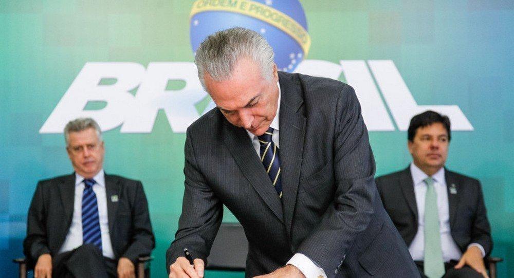 Temer assina decreto que regulamenta distribuição da CFEM para Municípios impactados