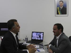 Diretor da CNM visita a AGM e elogia gestão da atual diretoria