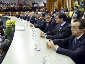 AGM prestigia posse da nova mesa diretora da Assembleia Legislativa