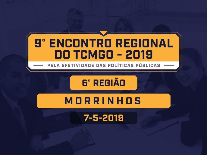 TCMGO recebe inscrições para o Encontro Regional de Morrinhos
