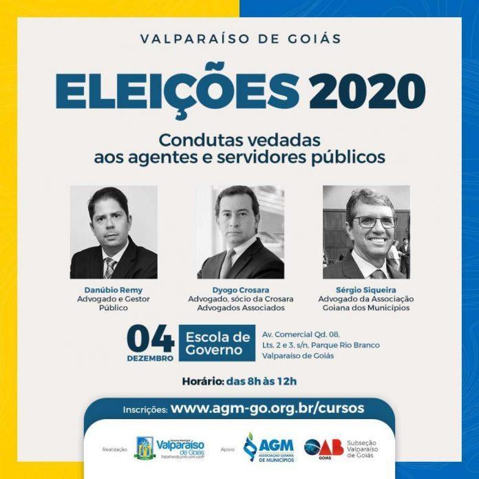 Palestra sobre condutas vedadas será realizada em Valparaíso